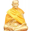Isolated shot of Statue of buddhist Monk — Stock Photo #50788907