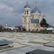 Cathedral of the Orthodox cemetery - Stock Photo