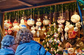 Oberhausen Christmas market Christmas decoration — Stock Photo