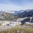 Julian alps with mount Triglav — Stock Photo