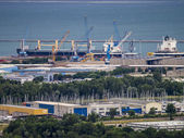 A port in Monfalcone, Italy — Foto Stock