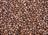 Coffee beans as a background — Stock Photo