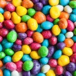A pile of colorful gumballs — Stock Photo