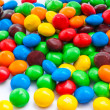 A pile of candies as background — Stock Photo