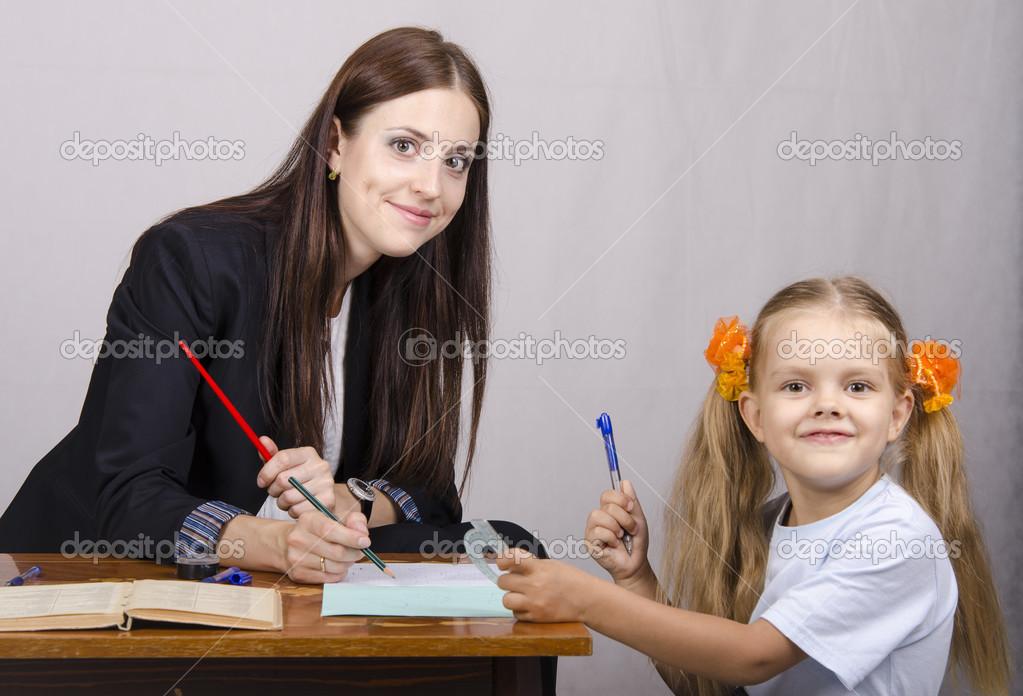 Учитель и ученица у неё дома 20 фотография