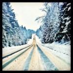 Russian winter — Stock Photo