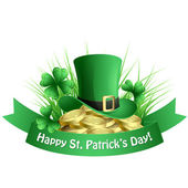 St. Patrick's background — Stock Vector