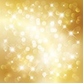 Abstract golden light background — Stock Vector