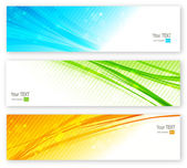 Vector abstract color banner — Stock Vector