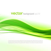 Abstract green background — Stock Vector