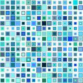 Astratto modello senza soluzione di continuità, sfondo di mosaico — Vettoriale Stock