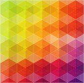 Geometric hipster retro background — Stock Vector