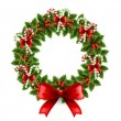 Christmas wreath — Stockvectorbeeld