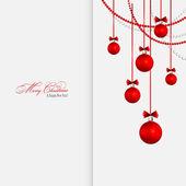 Vector Merry Christmas greeting card — Stock vektor