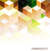 Abstract colorful geometric background — Stock Vector