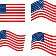 American Flag — Stock Vector #47040821
