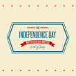 American Independence Day Patriotic background — Stock Vector #47449707
