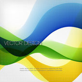 Abstract colorful line vector background — Stock Vector