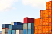 Shipping containers — Foto Stock