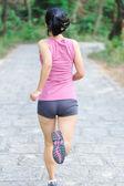 Corredor mujer corriendo — Foto de Stock