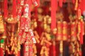 Fake chinese firecrackers — Stock Photo