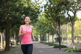 Woman runner — Stock Photo
