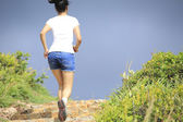 Sports woman running — Stok fotoğraf