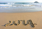 Number 2014 — Stock Photo