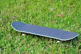 Skateboard on grass — Stock Photo