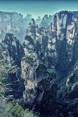 Zhangjiajie national  park — Stock Photo