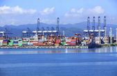 Yiantian international container terminal — Stock Photo