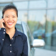 Businesswoman on the phone — Stock Photo #42161999