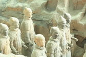 Restored Terra Cotta Warriors i — Stock Photo