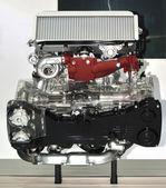 車エンジン ショー — ストック写真