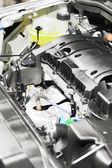 Car engine show — Stock Photo