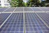 Renewable solar energy — Stock Photo