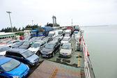 Passenger ship sailing head for Xuwen port — Foto Stock