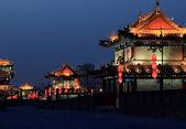 Beautiful night scene of Fenghuang — Stockfoto