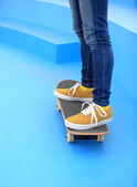 Skateboarder — Stock Photo
