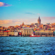 View of the ancient city of Istanbul — Stock Photo