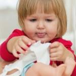 Little girl playing — Stock Photo #22220231