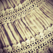 Background from a fabric with lace — Stock Photo #31272043
