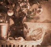 Hermosos adornos de navidad — Foto de Stock