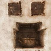 古い炉 — ストック写真