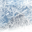 Frost on glass — Foto Stock