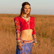 Very beautiful Gipsy — Stock Photo