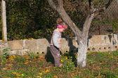 Little child in waistcoa — Foto Stock
