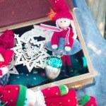 Various Christmas toys — Stock Photo #34704531