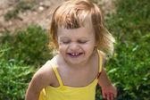 Happy jolly child — Stock Photo