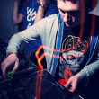 Minsk, dj, djs, night, club,friends, music, techno, minimal, dance — Stock Photo
